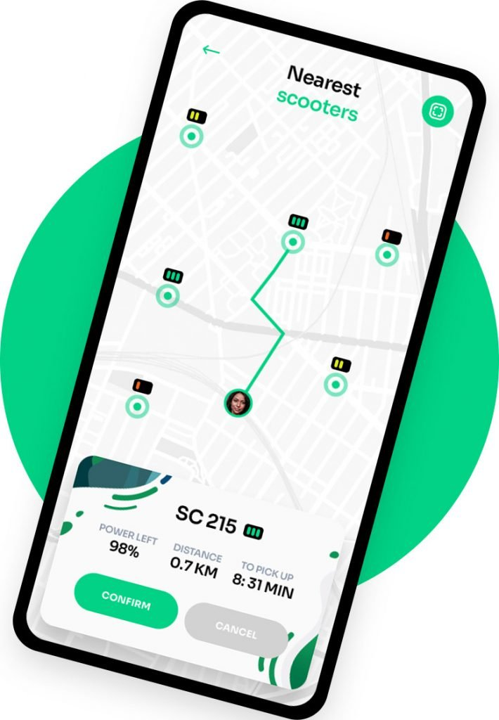 Scooter Rental On Phone