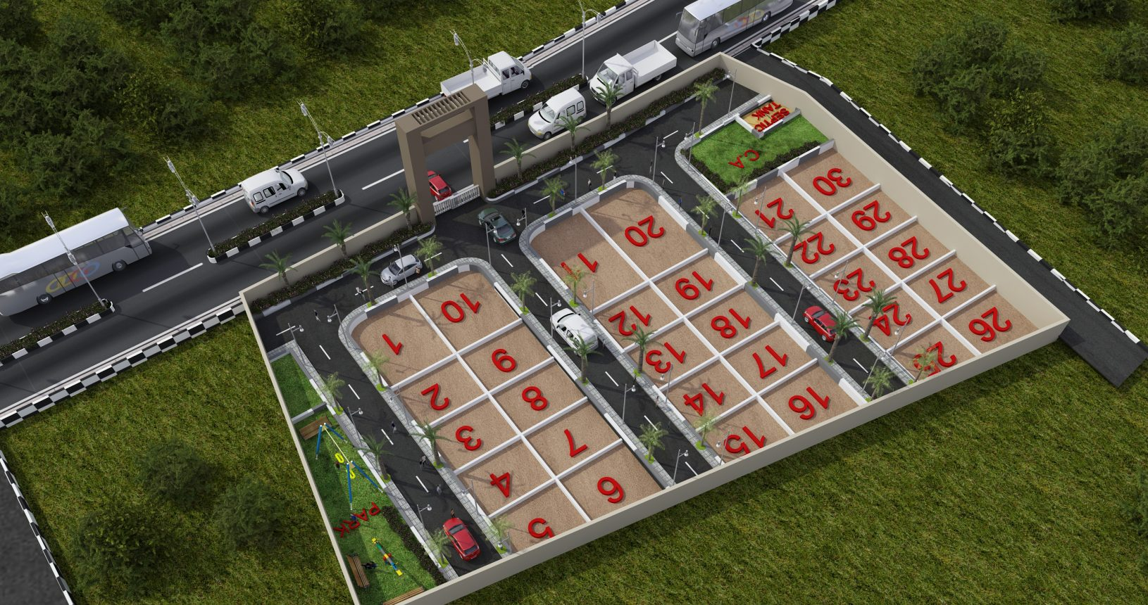 Herbal Sindhu Sites Near Mysore Airport By GSS Projects